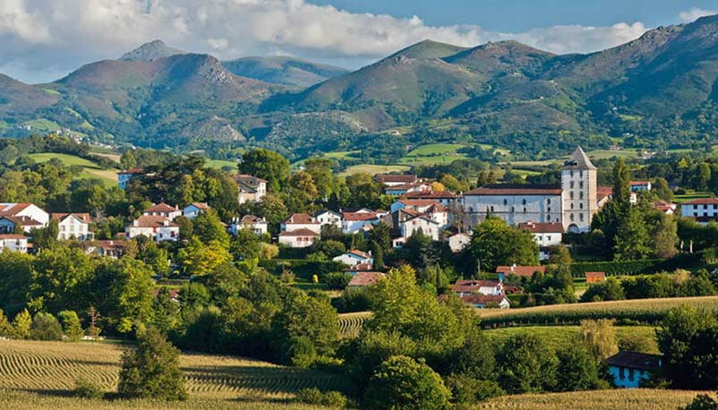 sare village basque