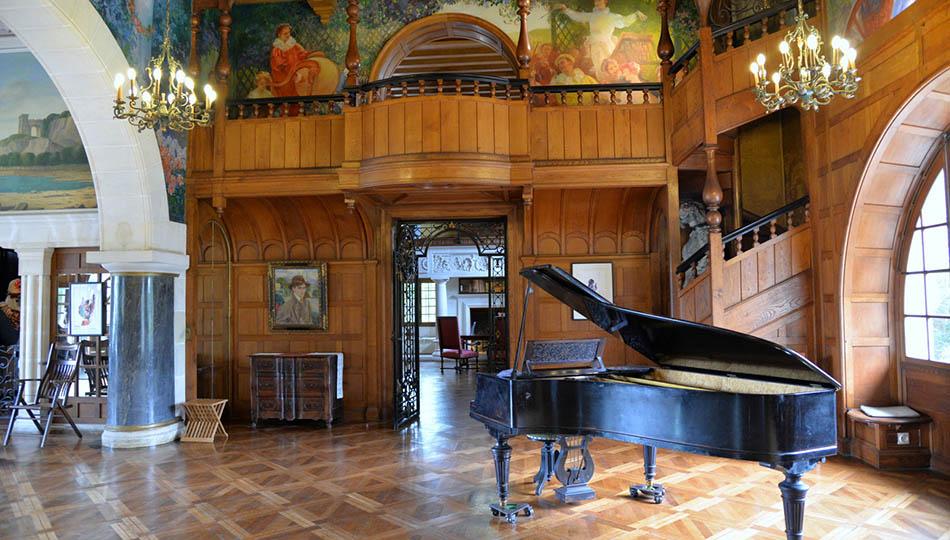 intérieur villa arnaga à cambo