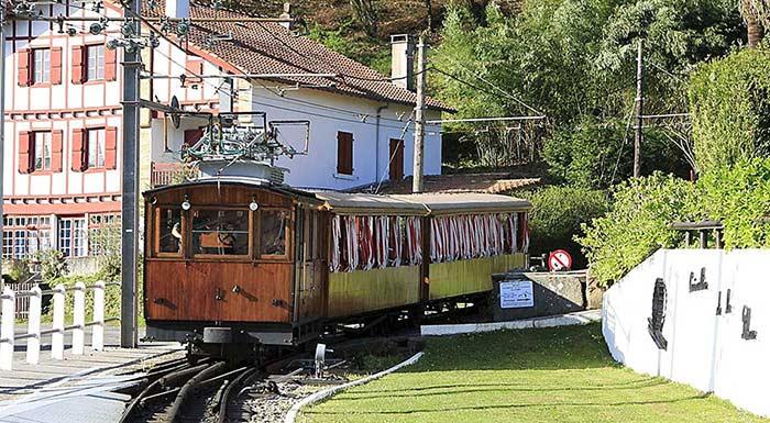Train de la rhune au Pays Basque