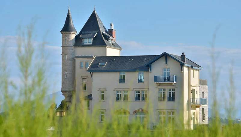 villa belza à biarritz au pays basque