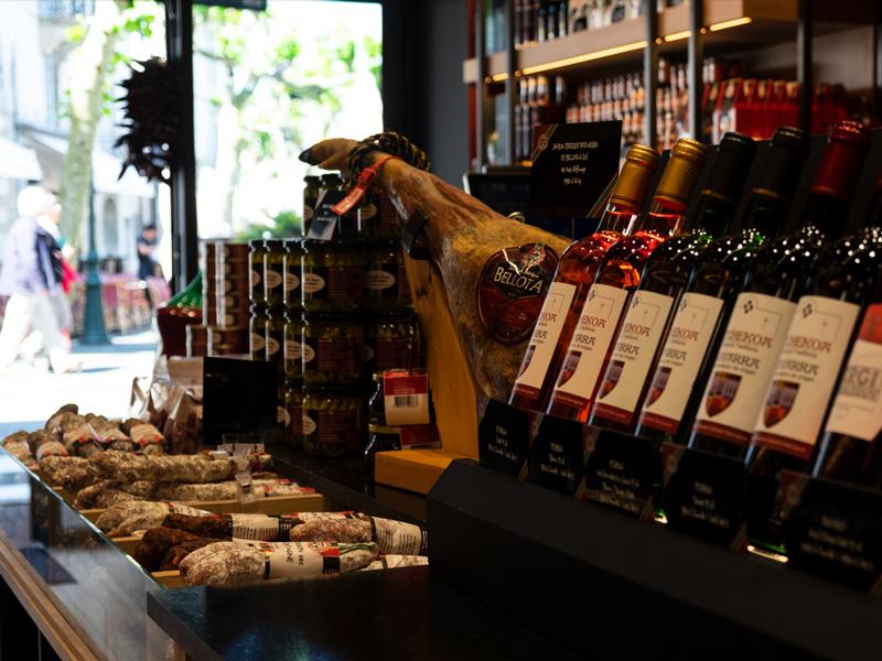 etxe peio-pays basque-produits terroir-saucisson