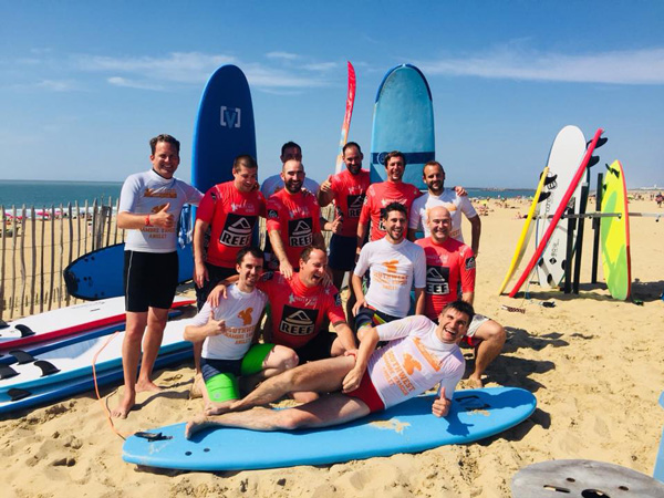 Anglet spirit surf-cours-groupe