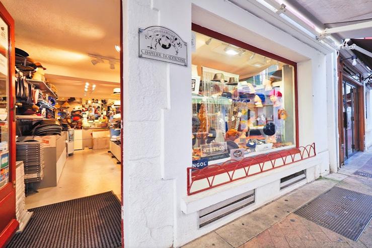 La Chapellerie Après la pluie-boutique st jean de luz