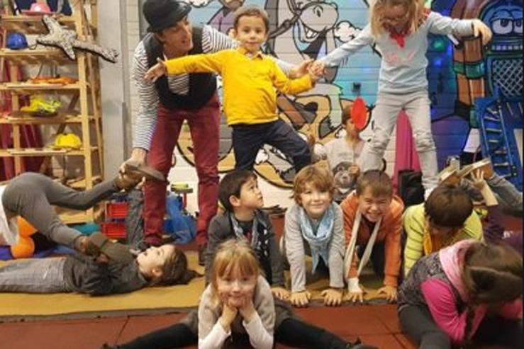 grenadine-Ateliers d'été cirque