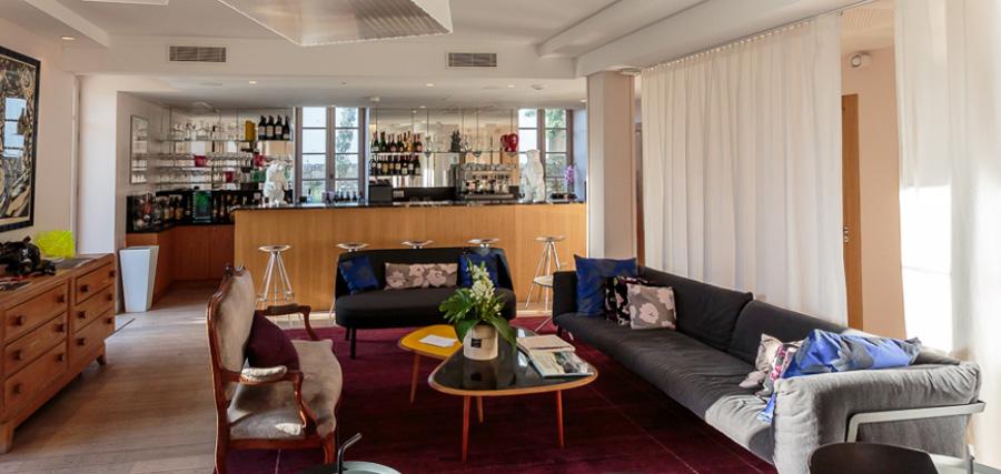 Hôtel de Silhouette-apéro-jazz in the garden-biarritz