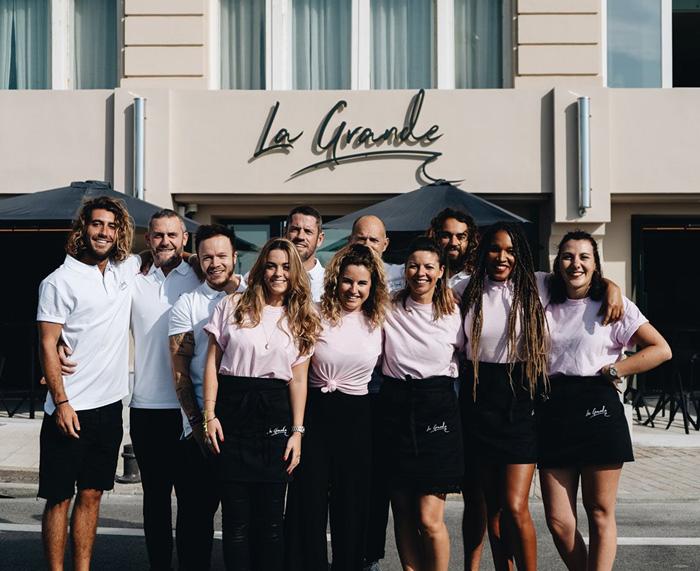 La Grande-Biarritz-Staff