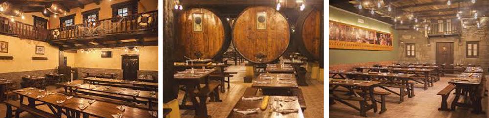 sagardotegia Petritegi-salle à manger