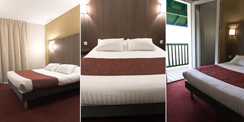 Arena Hotel St Jean de Luz-chambres