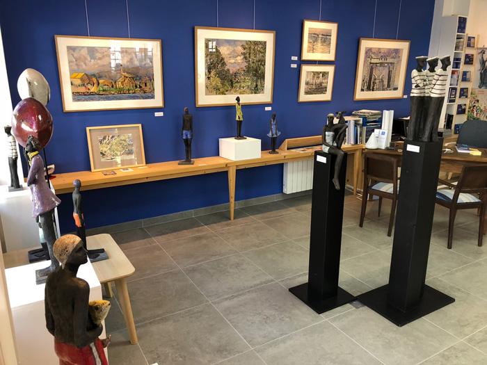 BLEU la galerie-st jean de luz-expo mensuelles