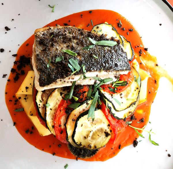 Le Perroquet restaurant-plats créatifs et colorés