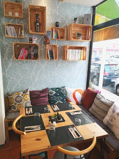 Le Perroquet restaurant-salle cosy-Bayonne