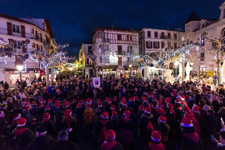 Saint Jean de Luz-Noël 2019-Place Louis XIV