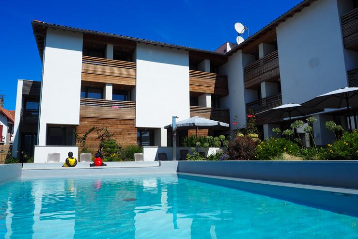Hotel restaurant Santiago-Hendaye-Pays Basque